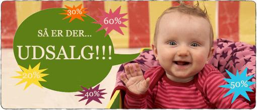 Udsalg på økologisk børnetøj og babytøj hos Ko og Ko