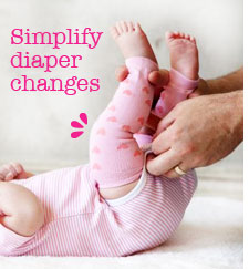 Babylegs - et godt tilbehør til stofbleer